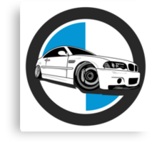 E46 M3 Enthusiast Canvas Print