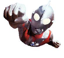 Ultraman by HaroldMeatballs