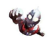 Ultraman Photographic Print