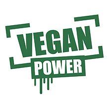 Vegan Power Stempel Logo by Style-O-Mat