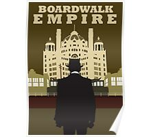 Boardwalk Empire Minimalist work Poster