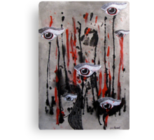Witness To A Violent Frenzy Canvas Print