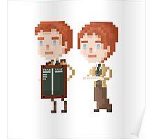Pixel Lutece - Bioshock Infinite Poster