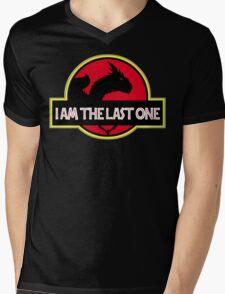 Draco - I am the last one Mens V-Neck T-Shirt