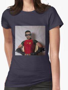 "Tim ""DRAKE"" Robin Womens Fitted T-Shirt"