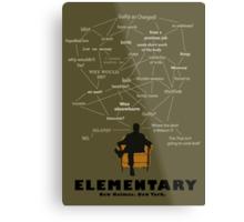Elementary minimalist work Metal Print