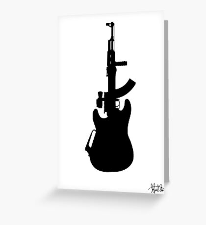 The Axe Greeting Card