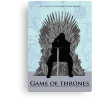 Game of Thrones minimalist work Canvas Print