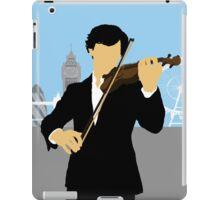 Minimalist Sherlock Violin Piece iPad Case/Skin