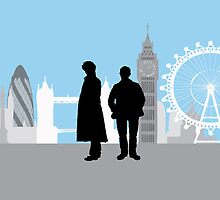 Minimalist Sherlock Work by cdemps