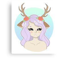 Deer Yu Canvas Print