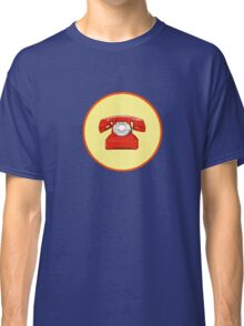 Phone Red Classic T-Shirt