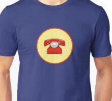 Phone Red Unisex T-Shirt
