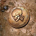 Silver dollarCoin Carving by Jeff Arnolds  Art