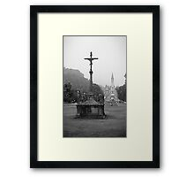 Sanctuary Our Lady of Lourdes Framed Print