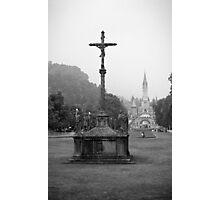 Sanctuary Our Lady of Lourdes Photographic Print