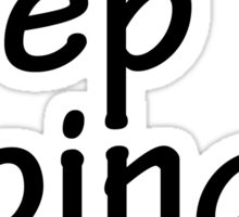 Semicolon; Keep Going Sticker