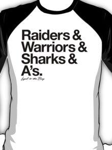 Loyal to the Bay - Oakland (Black Print) T-Shirt