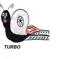 Turbo Snail by boostedartwork