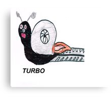 Turbo Snail Canvas Print