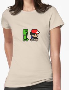 Creepin' on Ash Womens Fitted T-Shirt