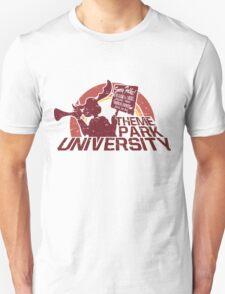 Theme Park University Mascot T-Shirt