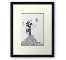 The Bug Collector Framed Print