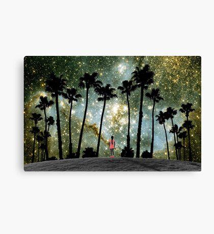 Paradise Galaxy Dream Canvas Print