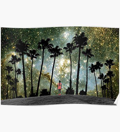 Paradise Galaxy Dream Poster