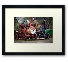 Wonderful Retirees Framed Print