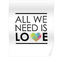 ALL WE NEED IS LOVE -2 Poster