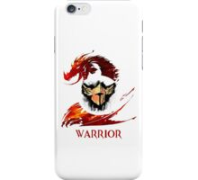 Guild Wars 2 Warrior  iPhone Case/Skin
