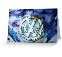 Volkswagen Logo II Greeting Card