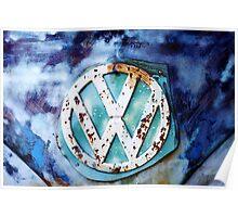 Volkswagen Logo II Poster