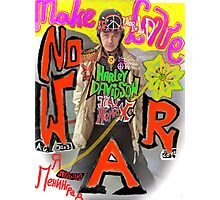Make Love no War !!!  Tribute to Peace and Freedom. God bless Europe & Culture. Photographic Print
