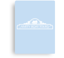 Amity Boat Tours Canvas Print