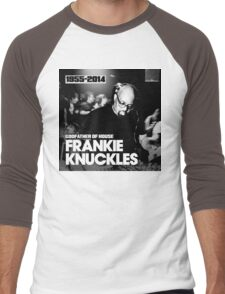 FRANKIE KNUCKLES RIP Men's Baseball ¾ T-Shirt