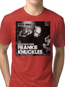 FRANKIE KNUCKLES RIP Tri-blend T-Shirt