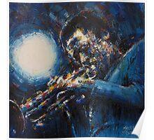 Miles Davis II Poster