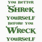 Shrek yourself. by PjMann