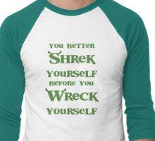 Shrek yourself. Men's Baseball ¾ T-Shirt