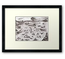 Ancient mariners Framed Print