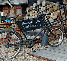 Southwold Harbour Bicycle  by AndyLanhamArt