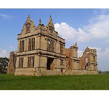 Moreton Corbet Castle Photographic Print