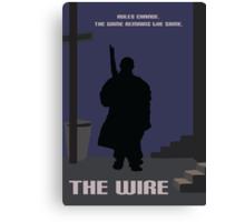 The Wire minimalist work Canvas Print
