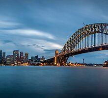 Sydney Harbour Blues by Chris Brunton