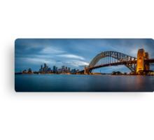 Sydney Harbour Blues Canvas Print