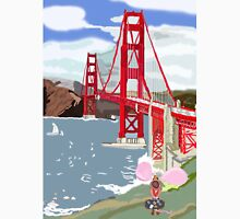 Alexander And The Golden Gate Bridge And His Long Journey Unisex T-Shirt