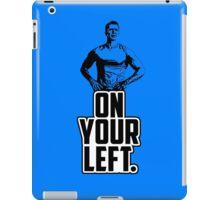 Cap - On Your Left. iPad Case/Skin