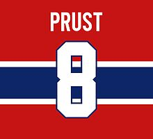 Montreal Canadiens Brandon Prust Jersey Back Phone Case by Russ Jericho